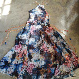 Tenax Maxi Dress EUC